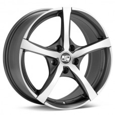 ET35 70 16x7.0 MSW23 GunMetal Polished