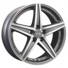 ET35 75 17x8.0 Velg OZ Racing Energy Silver Cut